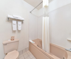 Full bathrooms with shower/tub combination